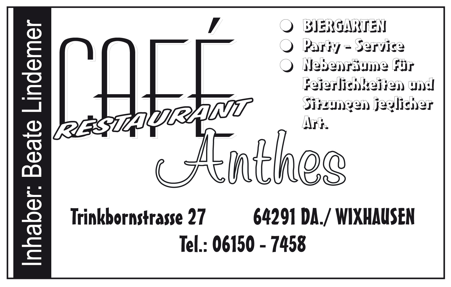 Cafe Anthes